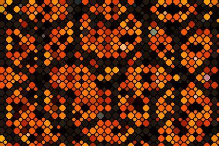 The Dark Orange vector layout with circle shapes. Фото со стока