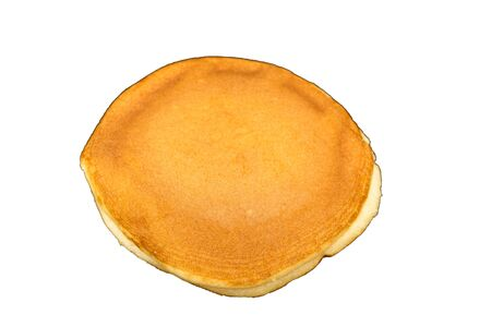 The Dorayaki , Japanese traditional red-bean pancake dessert isolate on white background