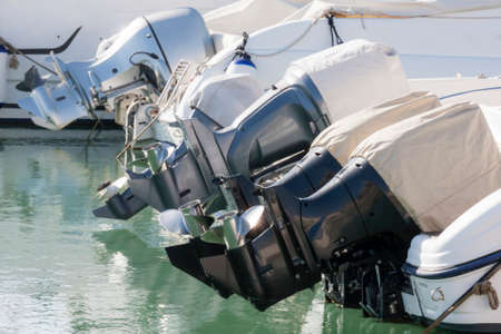 outboard: Outboard engines profiles view