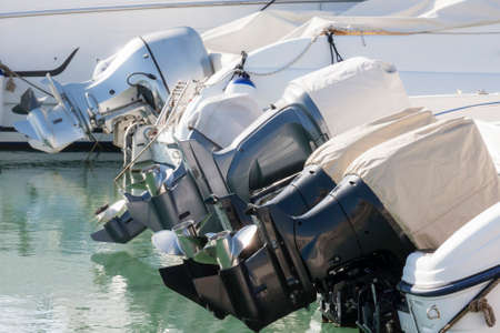 yachtsman: Outboard engines profiles view