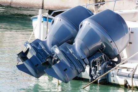 yachtsman: Couple of outboard engines