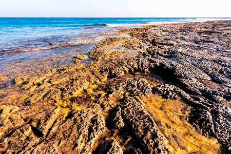 locality: San Pietro Island in the locality of La Punta Stock Photo
