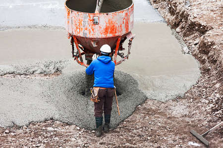 concreting: Skilled worker in concreting