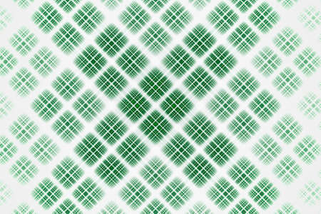 Abstract design white and green gradient grid