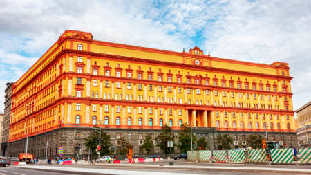 Moscow, Russian Federation - August 27, 2017 :  -  Lubyanka is the famous name for the headquarters of the FSB and affiliated prison, is located on Lubyanka Square in Meshchansky District of Moscow. 新聞圖片