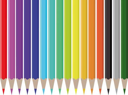 colorful pencils Stock Vector - 7577138