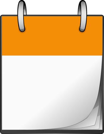 Orange Calendar