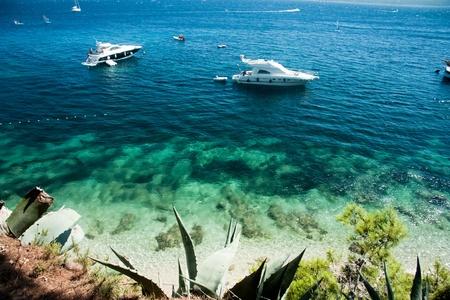 Costa de Bol, Croacia Foto de archivo