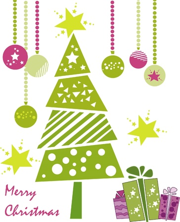 christmas tree Stock Vector - 9415429