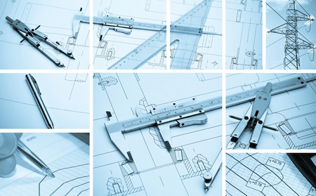 autocad: Collage business project