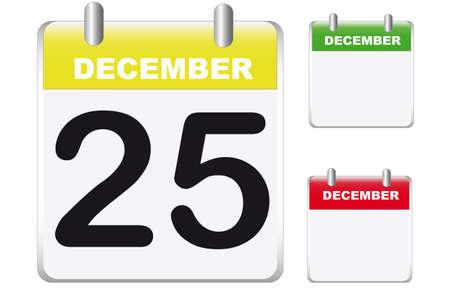 calendarios Vectores