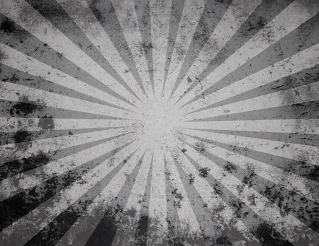 La luz del sol negro de fondo grunge Foto de archivo
