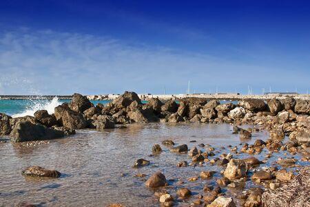 clouding: Port of San Leone, Agrigento - Sicily