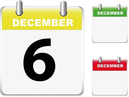 Set of calendars Vector