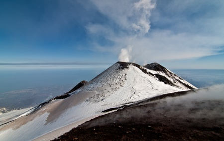 craters etna photo