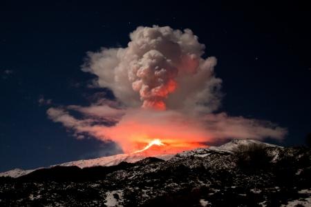 Etna erupci�n