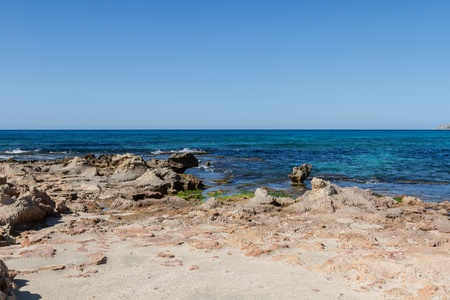 trapani: view of Trapani coast - Sicily Stock Photo