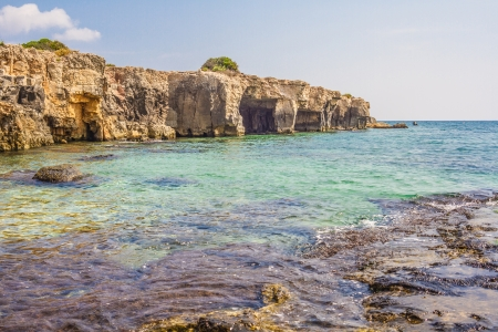 clouding: Sea of Arenella - Siracusa, Sicily