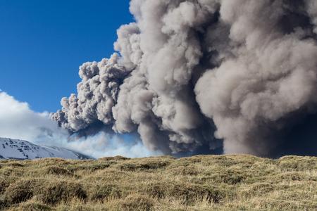 catania: Etna eruption - Catania, Sicily in April, 3 - 2013