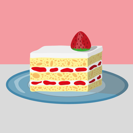 93 Strawberry Shortcake Stock Vector Illustration And Royalty Free ...