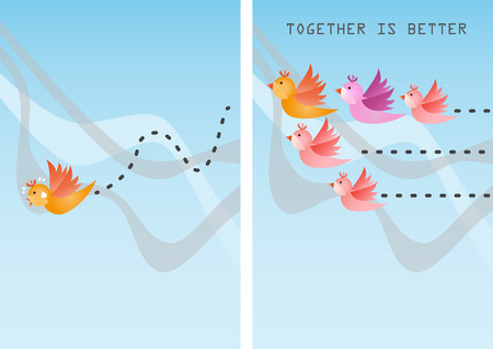 Together is better than alone