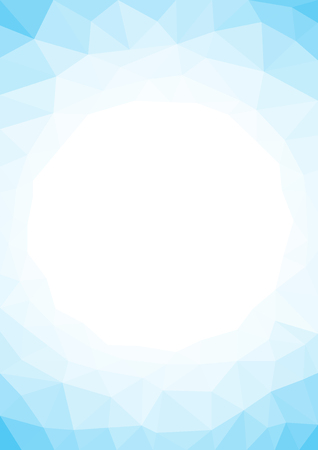 Light at the center of blue