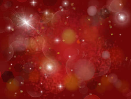 san rays: Flash star with flare artefact and numerous rays Stock Photo