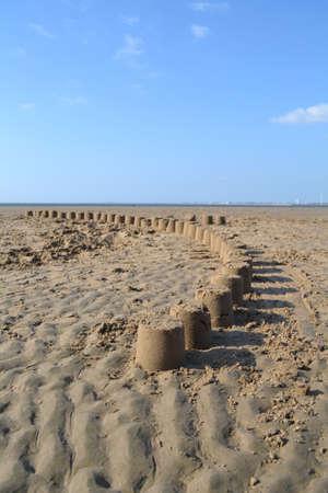 sandcastles: Sandcastles closeup