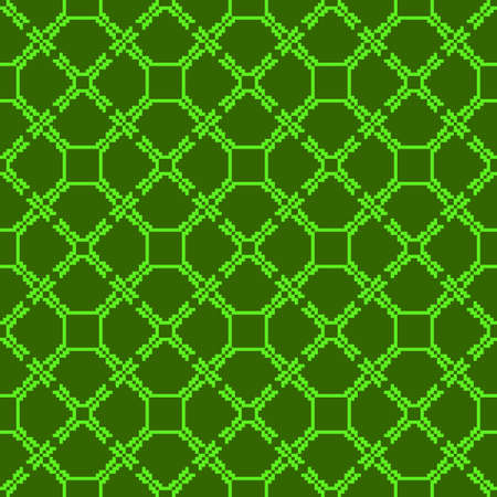 Abstract seamless image. Green colors.  illustration. Application for web design, wallpaper design, presentation, in the textile industry.