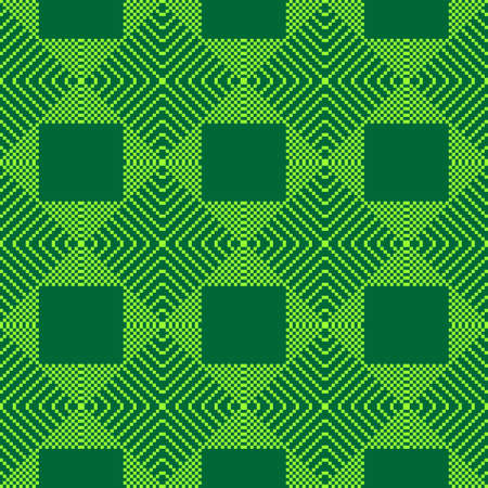 diagonal stripes: Seamless pattern. Pixel geometry. The abstract  image. It can be used for web design, background image, wallpaper wall. Green color