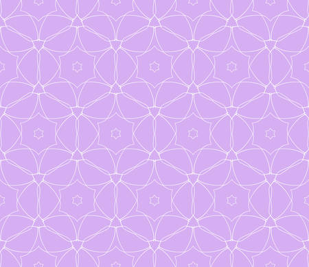 purple color illustration, Easy festive ornament from abstract flower in the style of geometric transformation.