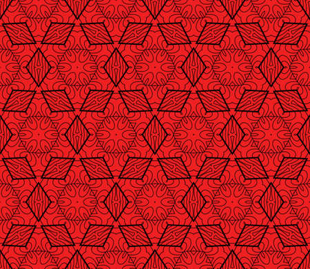 wedding dress: geometric pattern in floral lace style. Ethnic ornament. Vector illustration. For modern interior design, fashion textile print, wallpaper, decor panel