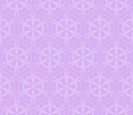 purple color illustration. Easy festive ornament from abstract flower in the style of geometric transformations. For registration backgrounds, greeting cards.