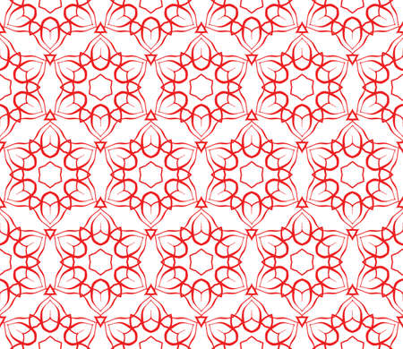 floralgeometric seamless pattern background. Luxury texture for wallpaper, invitation. vector illustration.