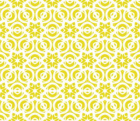 Naadloos geometrisch patroon met bloemenstijlornament op kleurenachtergrond. Voor wenskaarten, uitnodigingen, omslagboek, stof, plakboeken. Vector Illustratie
