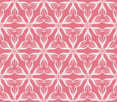 antiquary: decorative geometric ornament. Seamless vector illustration. Floral style.