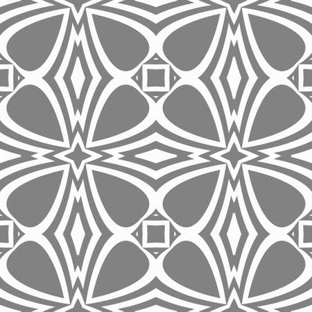 Easy festive ornament geometric style. Vector illustration Ilustração