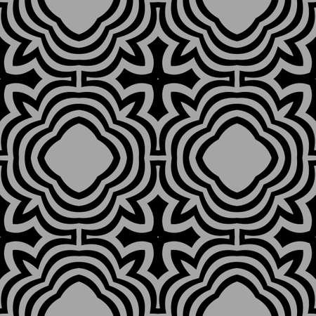 seamless geometric patterns with Intersecting lines. Vector illustration.