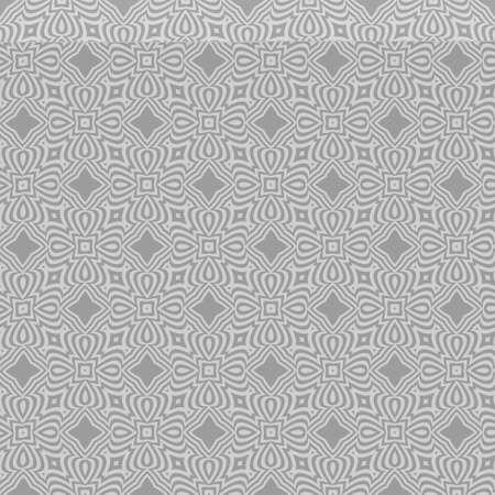 Luxury floral ornament. seamless pattern. grey color. vector illustration. for wallpaper, invitation Illustration
