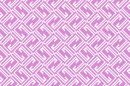 geometric ornament on color background. Seamless vector illustration. For interior design, wallpaper Illustration