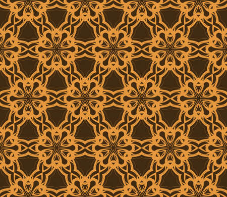 photo album: Seamless geometric pattern with floral style ornament on color background. For greeting cards, invitations, cover book, fabric, scrapbooks.