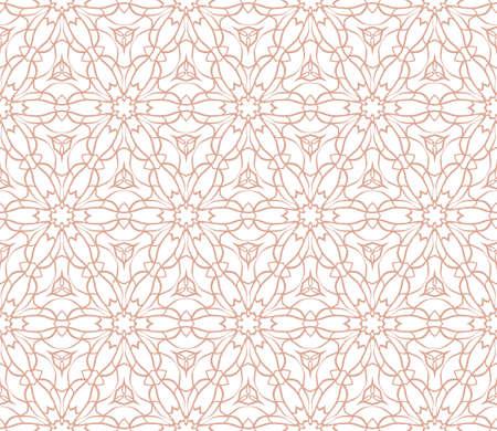 Floralgeometric seamless pattern background. Luxury texture for wallpaper, invitation. vector illustration. Illustration