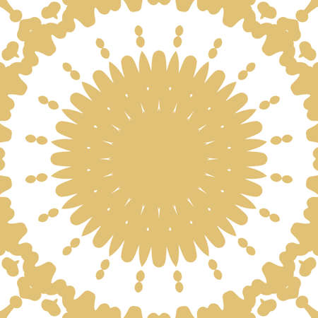 Abstract floral hand drown pattern vector illustration