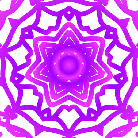 Floral pattern. vector illustration. hand drawn henna india tribal paisley background. purple color