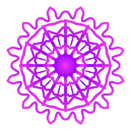 Mandala. Vector illustration. Ethnic Circle Ornament.