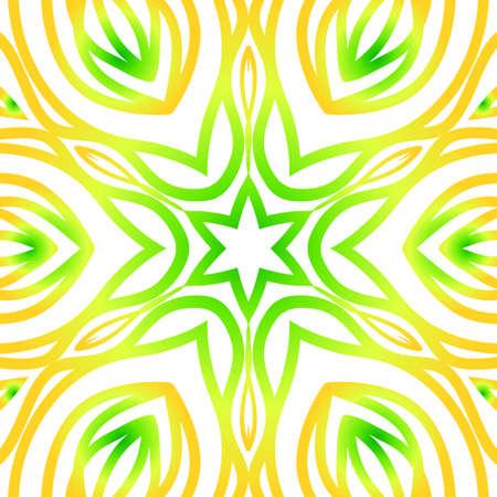 Summer color floral background. Illustration