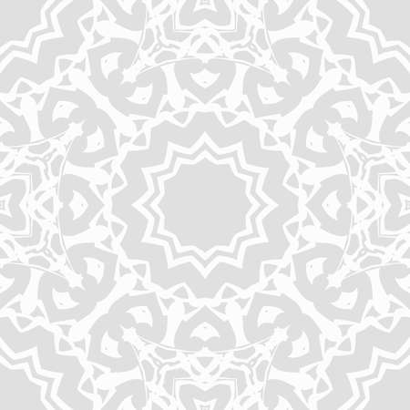 seamless lace pattern with abstract floral ornament. vector illustration Illustration