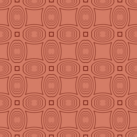 seamless pattern with geometric ornament. vector illustration. brown color