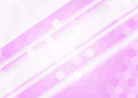 banner of polygonal elements. purple gradient hexagon. Vector illustration. For design, presentations Vectores