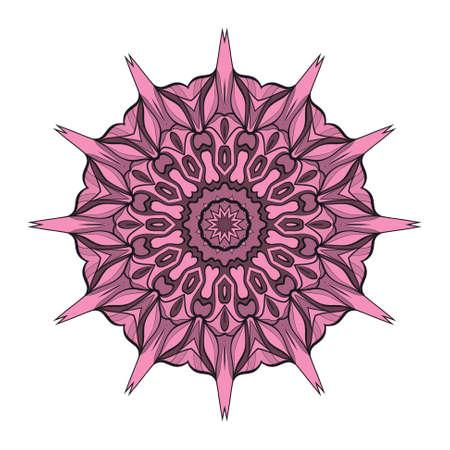 Mandala element vector illustration. Design for greeting card, invitation, tattoo. Illustration